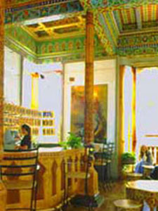 Inside the Teahouse
