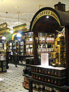 Harrods' Coffee Selection