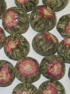 Pearl Blossom Green Display Tea