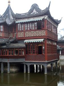... Old Shanghai Teahouse Exterior