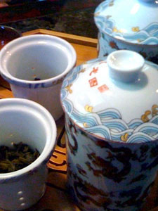 Tea at Jade Leaves