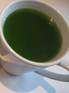 Beautiful Matcha at Muzi