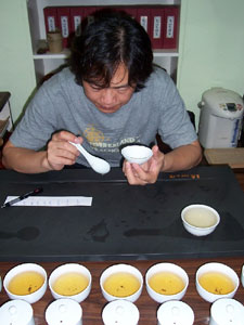 Blind Tea Taste Test