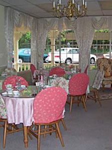 Inside the Tearoom