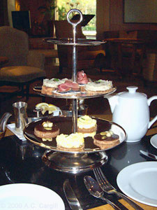Tiered tea-time treats