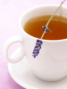 Lavender Makes for a Perfect Cup of Tea