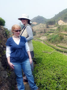 Cynthia & Suzette in Changsha