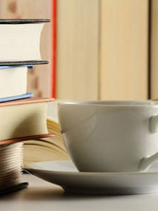 Hit the books with a cup of tea