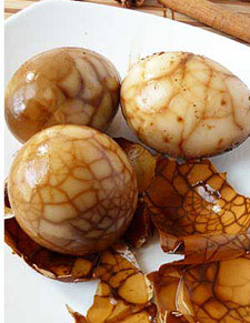 Tea marbled eggs