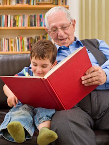 Storytime is a gift for all ages