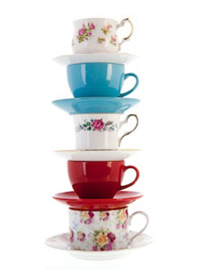 Make room for new tea ware