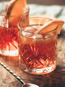 Adding smokyfall flavor to a traditional Old Fashioned transforms the experience!