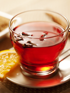 Bring comfort into your home with a spiced tea toddy.