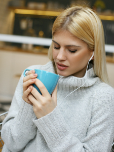 Cozy up with your favorite tea and listen to some soothing tunes