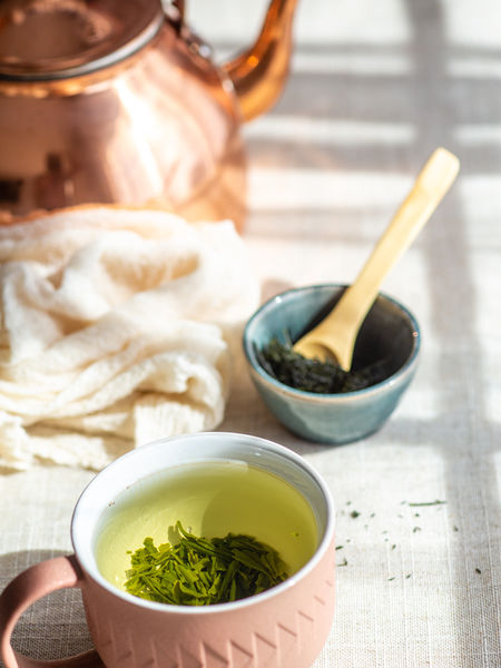 Harvested in the spring, this first-flush green grows under the careful management of Farmer Katahira who grew up on a family tea farm and has learned first-hand the intense labor in both the harvesting and processing that results in a fine Sencha.