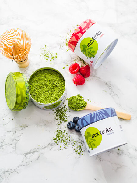 Our matcha teas come in a range of classic and flavored varieties to suit every mood and palate. These precious powdered teas also make for a great addition to lattes and cakes!